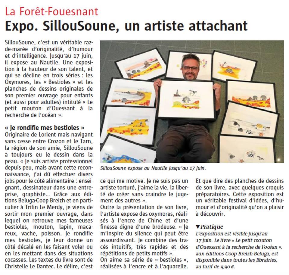 Expo. Sillousoune, un artiste attachant