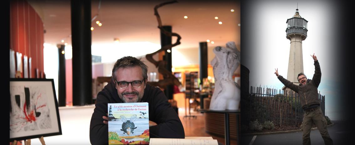Sillousoune s'expose au phare de Verzenay, en Champagne