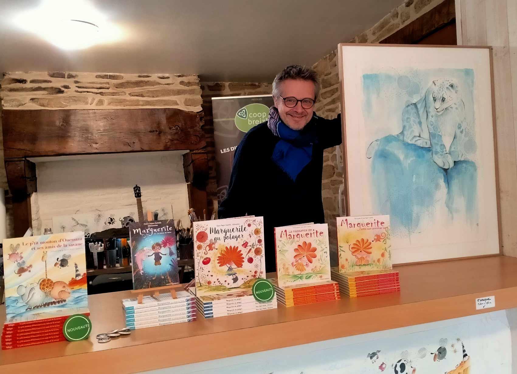 Sillousoune est en résidence d'artiste du 15 mars au 5 juin 2021 à Forêt-Fouesnant