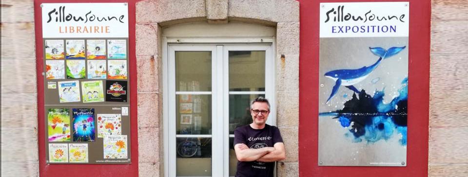 Sillousoune en résidence artistique au Guilvinec pendant tout l'été